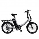 Byocycles Chameleon LS Folding Electric Bike White