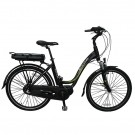 Byocycles Zest+ Electric Bike Step Through Black