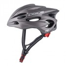 Dirty Dog Trident Cycle Helmet Matt Dark Silver One Size