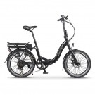 Wisper 806SE Folding Electric Bike Black